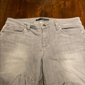 Joe's Jeans Gray Skinny Ankle Jeans